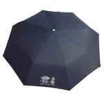 折りたたみ傘 <黒・エンジ>